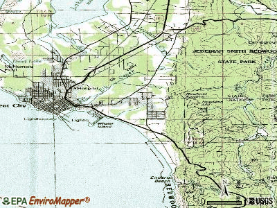 Bertsch-Oceanview topographic map