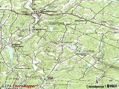 Woodridge topographic map