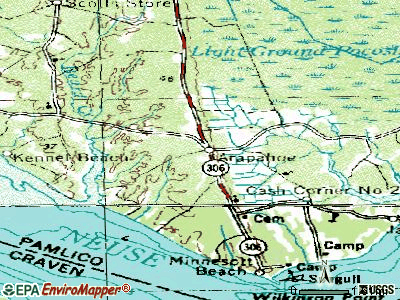 Arapahoe topographic map