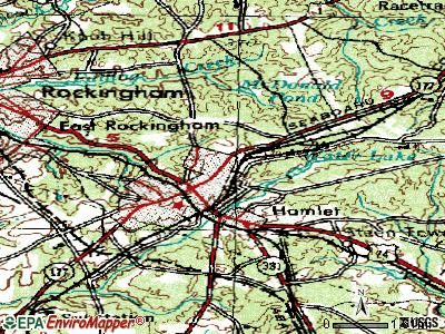 Dobbins Heights topographic map