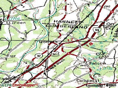 Godwin topographic map