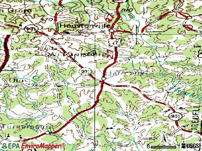 Harmony topographic map