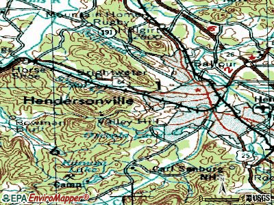 Laurel Park topographic map
