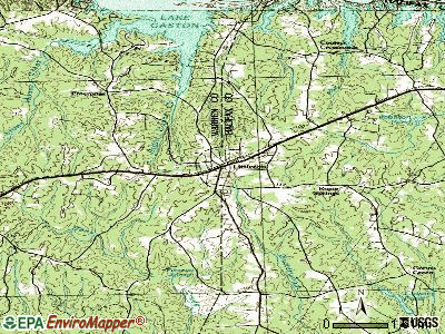 Littleton topographic map