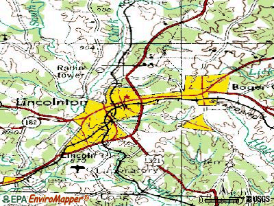 Louisburg topographic map