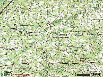 McLeansville topographic map
