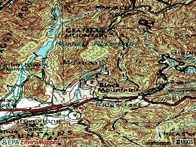 Montreat topographic map