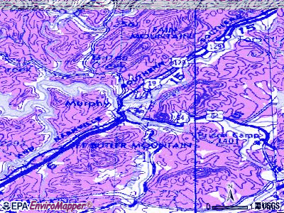 Murphy topographic map