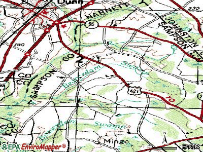 Plain View topographic map