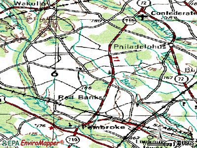 Prospect topographic map