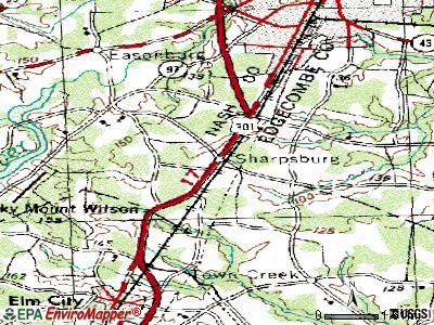 Sharpsburg topographic map