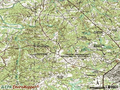 Wentworth topographic map
