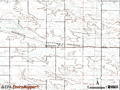 Arnegard topographic map