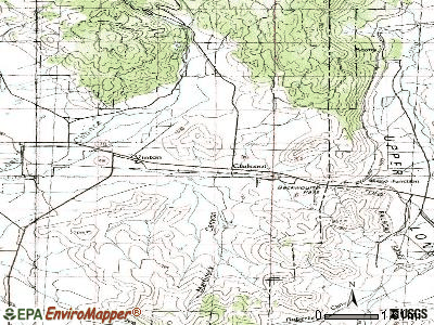 Chilcoot-Vinton topographic map