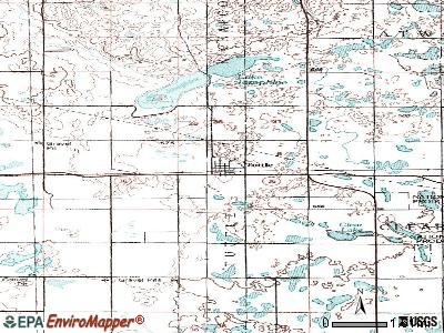 Tuttle topographic map