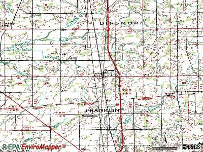 Anna topographic map