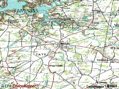 Bethel topographic map