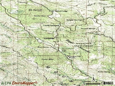 Cobb topographic map