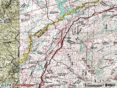 Colfax topographic map