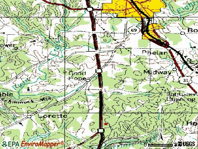 Good Hope topographic map