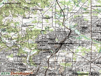 Cuyahoga Falls topographic map