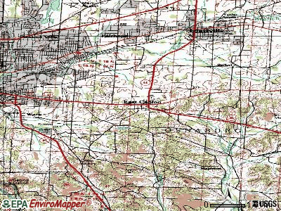East Canton topographic map