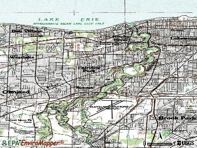 Fairview Park topographic map