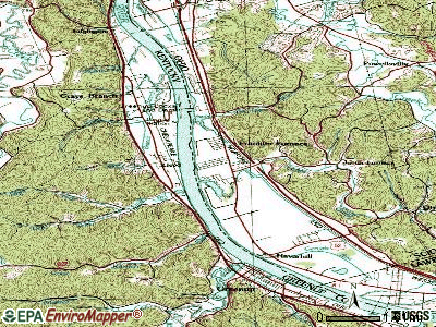 Franklin Furnace topographic map