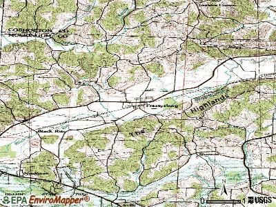 Frazeysburg topographic map