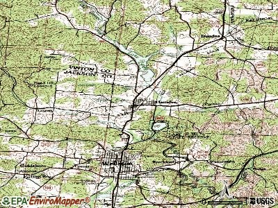 Hamden topographic map