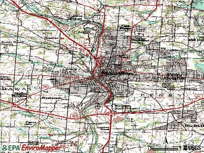 Massillon topographic map