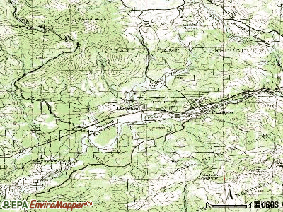 Delleker topographic map