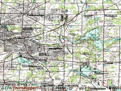 Mogadore topographic map