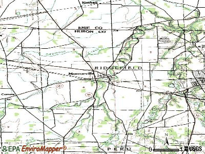 Monroeville topographic map