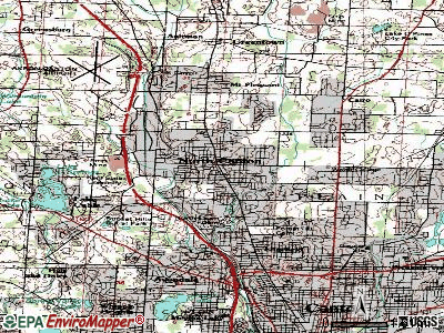 North Canton topographic map