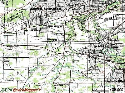 Olmsted Falls topographic map