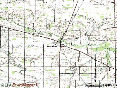 Rockford topographic map