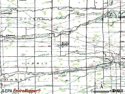 Rocky Ridge topographic map