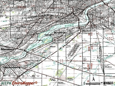Rossford topographic map