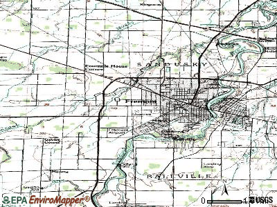 Stony Prairie topographic map