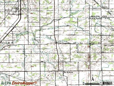 Uniopolis topographic map