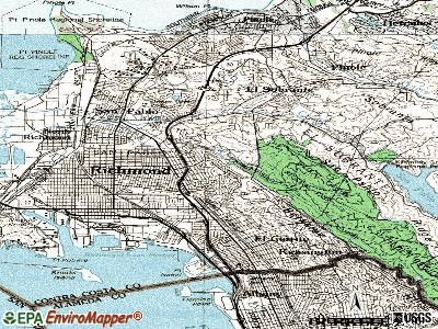 East Richmond Heights topographic map