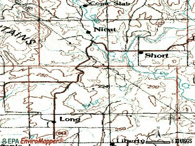 Belfonte topographic map