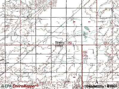 Forgan topographic map
