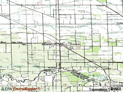Escalon topographic map