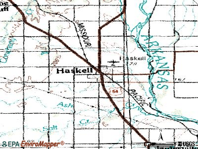 Haskell topographic map