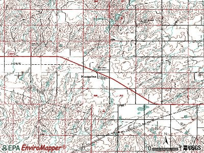 Knowles topographic map