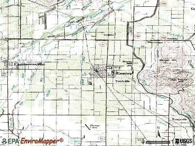 Fallbrook topographic map