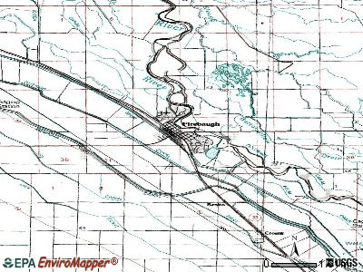 Firebaugh topographic map