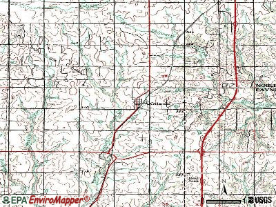 Orlando topographic map